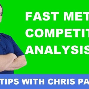 How To Do SEO Competitor Analysis Fast Method