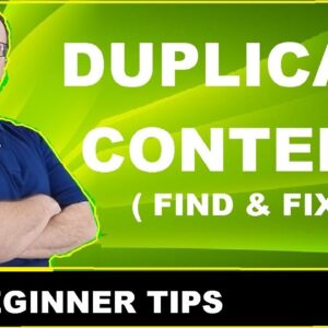 How To Fix Duplicate Content For SEO