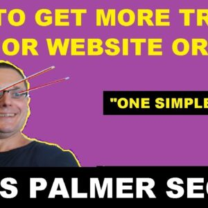How To Get More Traffic To Your Website (Free)