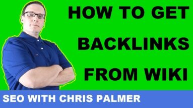 How To Get Wikipedia backlink SEO Tutorial