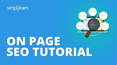 On Page SEO | On Page SEO Tutorial | On Page Optimization | SEO Tutorial For Beginners | Simplilearn
