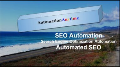SEO Automation : Search Engine Optimization Automation : Automated SEO
