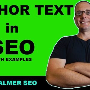 SEO For Beginners What is Anchor Text