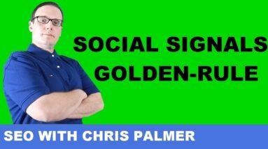 Social Signals : The SEO Golden Rule