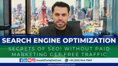 Search Engine Optimization | What is SEO, SEO Services & SEO Tools | Digital Marketing with Junaid