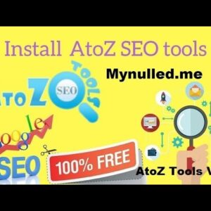 AtoZ SEO Tools v2.7 - Search Engine Optimization Tools Nulled ( Free )