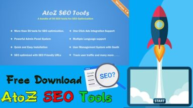 Free Download AtoZ SEO Tools   Search Engine Optimization Tools   Tech Fame 360