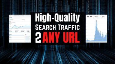 Google Organic Search Engine Traffic to any URL!