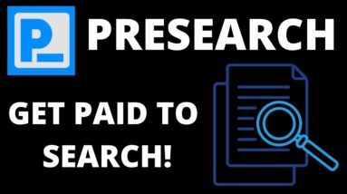 Earn crypto rewards and get free ad traffic! | Presearch decentralised search