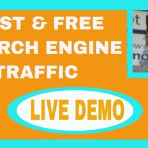 How To Get Free Search Engine Traffic Fast With Affiliate Marketing Reviews