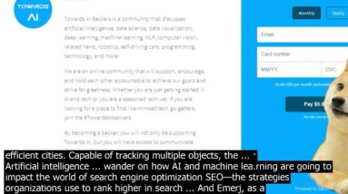 Ai search engine traffic view designed to reliably detect and classify road users  the tra