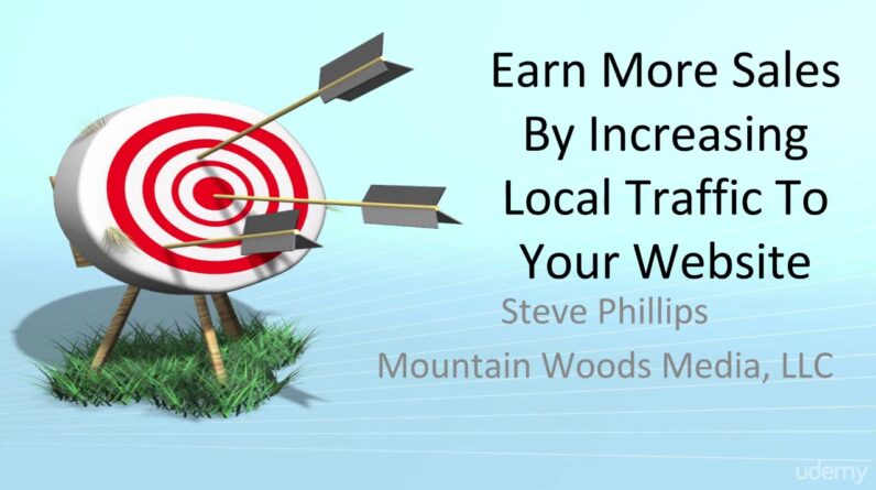 Earn More Sales By Increasing Local Traffic To Your Website - learn Sales