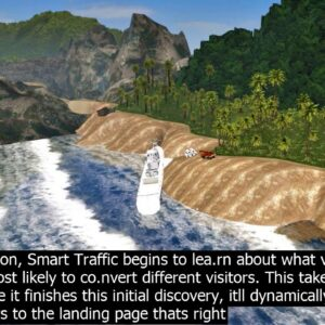 Ai search engine traffic route after you turn it on  smart traffic begins to lea.rn about