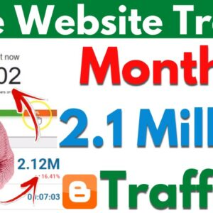 Free Website Traffic 2021 | Get Free Website Traffic From USA | Get Free Organic Website Traffic |