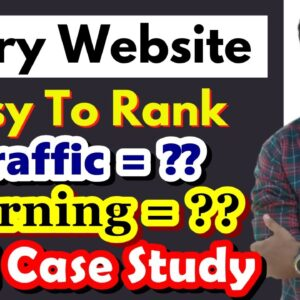 Story & Quotes Website - Traffic + Earning = ?? Full Case Study in Hindi