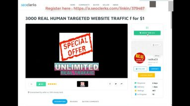 3000 REAL HUMAN TARGETED WEBSITE TRAFFIC for $1 On Seoclerks