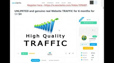 UNLIMITED and genuine real Website TRAFFIC for 6 months On SEOClerks 2020